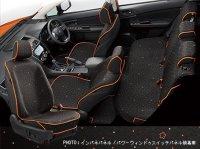 【SUBARU・XV HYBRID】オールウェザーシートカバー(ミニアムブラック)・スバル純正部品/スバルパーツ