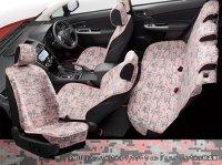 【SUBARU・XV HYBRID】オールウェザーシートカバー(デジカモピンク)・スバル純正部品/スバルパーツ
