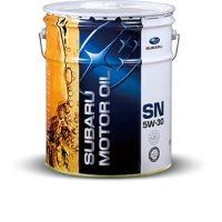 スバル純正 SUBARU MOTOR OIL(エンジンオイル) SN 5W-30 20L缶