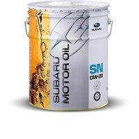 スバル純正 SUBARU MOTOR OIL(エンジンオイル) SN 0W-20 20L缶