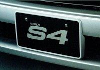 【SUBARU・WRX】カラードナンバーベース・スバルパーツ・スバル部品