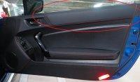 【BRZ・ZC】E型 ドアトリムパネル(赤ステッチ)・スバル純正部品/SUBARUパーツ