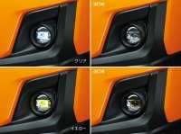 【SUBARU・XV/GT】LEDフォグランプ(クリア/イエロー)・スバルパーツ・スバル部品