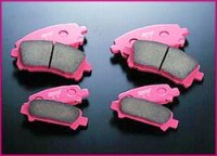 【レガシィ・BE/BH】STI ブレーキパッドセット・スバル純正部品/STIパーツ