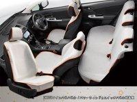 【SUBARU・XV HYBRID】オールウェザーシートカバー(ミニアムライトグレー)・スバル純正部品/スバルパーツ
