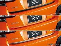 【SUBARU・XV/GT】テールゲートガーニッシュ(ブラック/オレンジ/メッキ調)・スバルパーツ・スバル部品