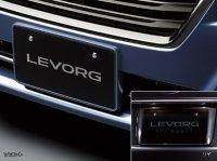 【レヴォーグ・VM】カラードナンバープレートベース・スバルパーツ・スバル部品