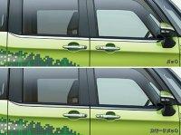 【ジャスティ・M900F/M910F】ベルトラインモール(メッキ/スモークメッキ)・スバルパーツ・スバル部品