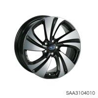 【SUBARU・XV/GT】SAA 17インチアルミホイールセット(ブラック+切削光輝)・スバルパーツ・スバル部品