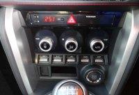 【BRZ・ZC】STI Sport用 エアコンパネル(ピアノブラック調)・スバル純正部品/SUBARUパーツ